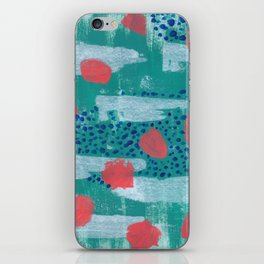 abstract coral iPhone Skin