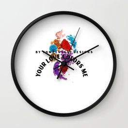 Bright world art  Wall Clock