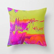 Soundwaves. Throw Pillow