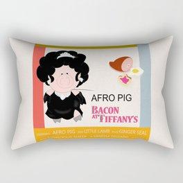 Bacon at Tiffany's Rectangular Pillow