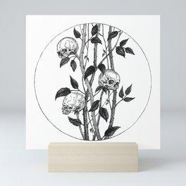 Funeral Roses Mini Art Print