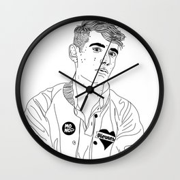 Álex Anwandter Wall Clock