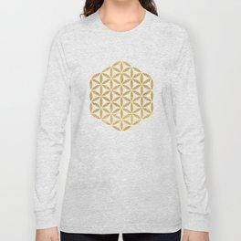 FLOWER OF LIFE sacred geometry Long Sleeve T-shirt