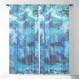 Cold Water Sheer Curtain