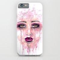 Abastract Watercolor Portrait Slim Case iPhone 6s
