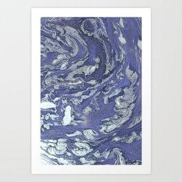 Mercury pollution Art Print
