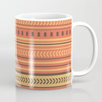 indian Mugs featuring Indian by Julia Brnv