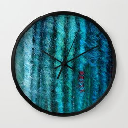 Of Pearls and Blood Wall Clock