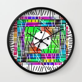 Rainbow 13 Wall Clock