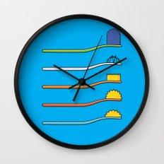 The Simpsodynes Wall Clock