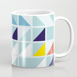 Sunny Geometric Regatta #pattern Coffee Mug