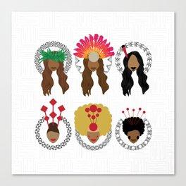 UrbanNesian Women of Pasifika Canvas Print