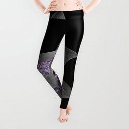 Agave Finesse Glitter Glam #3 #tropical #decor #art #society6 Leggings