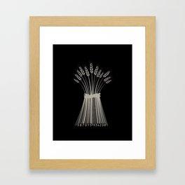 Industrial Farming Framed Art Print
