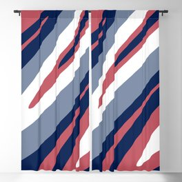 Abstraction. Abstract waves. Camouflage. Blackout Curtain
