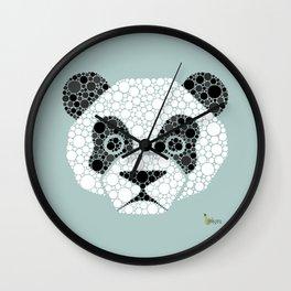 Colourblind Panda Wall Clock