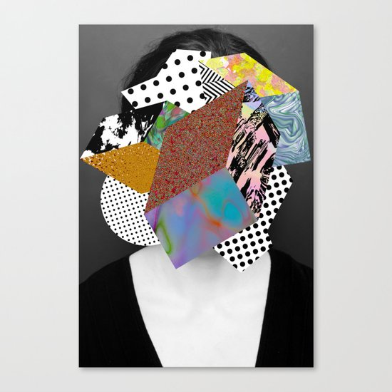 Too Much Going On Canvas Print