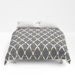 Gray Pattern No. 2 Comforters