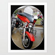 Harley 110 years Art Print