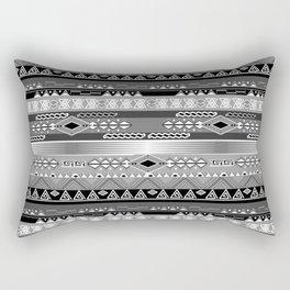 Ethnic stripes. Tribal pattern Indians. Rectangular Pillow