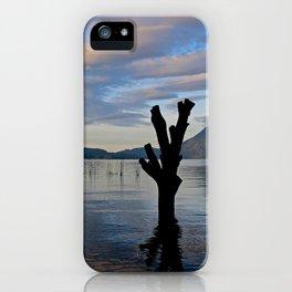 Sunrise at Lago Atitlan,Guatemala iPhone Case