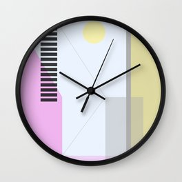 Geometric Calendar - Day 5 Wall Clock