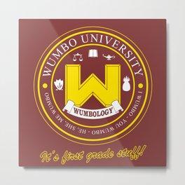 Wumbo University Metal Print