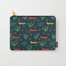 Cute Garden Worms Carry-All Pouch