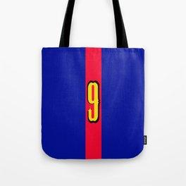 football team 1 number nine Tote Bag