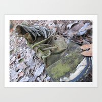 shoe Art Prints featuring Shoe by DillonWire