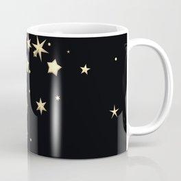 Golden Stars 3 Coffee Mug