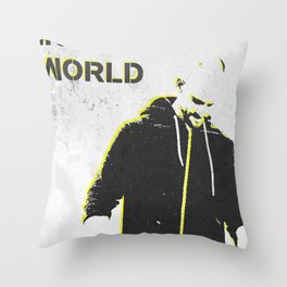 B.I.T.W. Throw Pillow