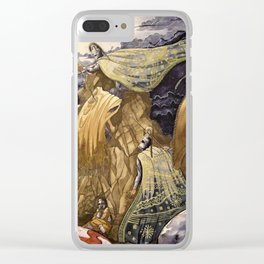 Into Troy Clear iPhone Case