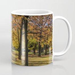 Fall City Park Scene Coffee Mug