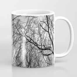 Black and white branches Coffee Mug