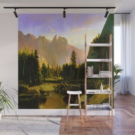 William Keith Yosemite Valley Wall Mural