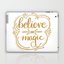 Believe in Magic Laptop & iPad Skin