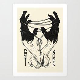 Past Haunts Art Print