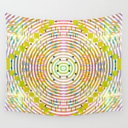 Rustic geometry Wall Tapestry
