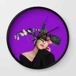 LADY FLOWERS XIV Wall Clock