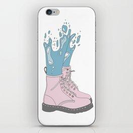 Mermaid Shoes iPhone Skin