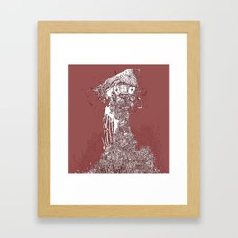 Tower of Cages Framed Art Print