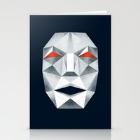 starfox Stationery Cards featuring Star Fox Andross Lylat Lowpoly Laugher by Barrett Biggers