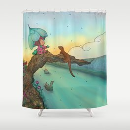 Under cover Shower Curtain