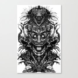 A Mad Mans Mysteries Canvas Print
