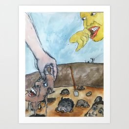 Where Do Babies Come From? Art Print
