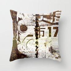 City 17 Throw Pillow