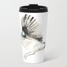 Blue Jay Metal Travel Mug