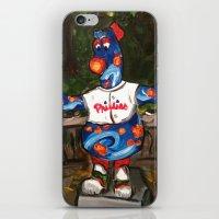 Phillies Statue iPhone & iPod Skin