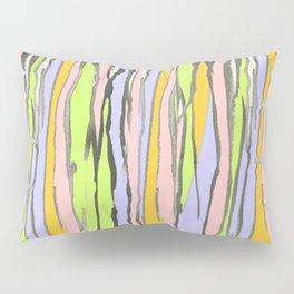 Dripping Dreams-Orange, ink painting, digital Pillow Sham